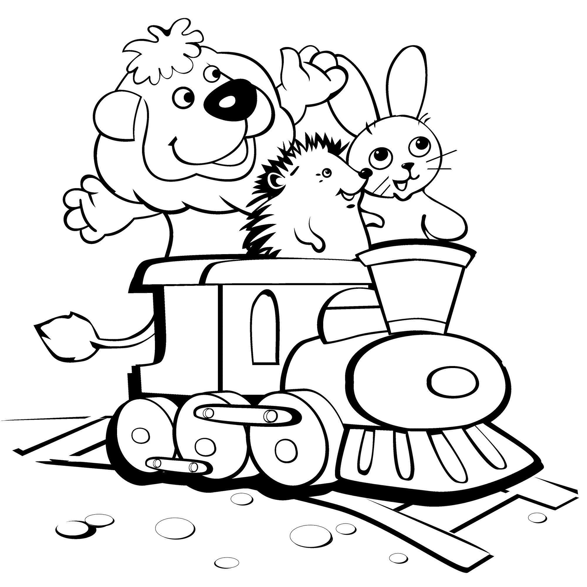 Printable Coloring Pages Kids  Free Printable Funny Coloring Pages For Kids