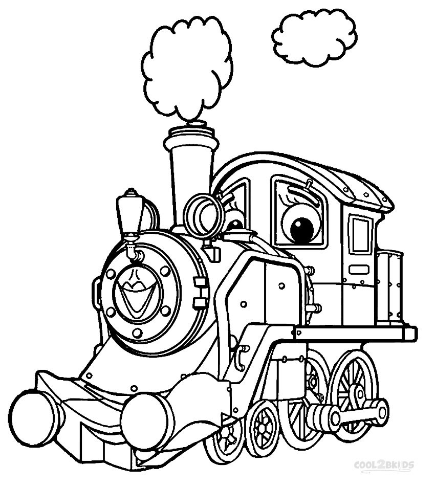 Printable Kids Coloring Pages  Printable Chuggington Coloring Pages For Kids