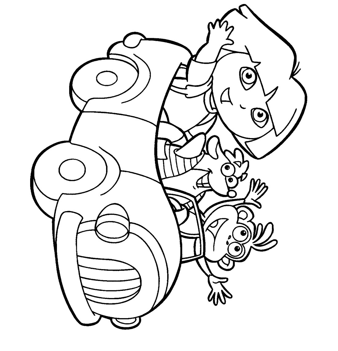 Printable Kids Coloring Pages  Printable coloring pages for kids