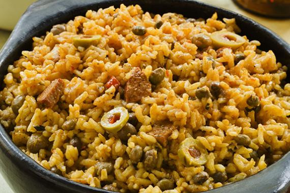 Puerto Rican Main Dishes  Puerto Rican Rice and Pigeon Peas