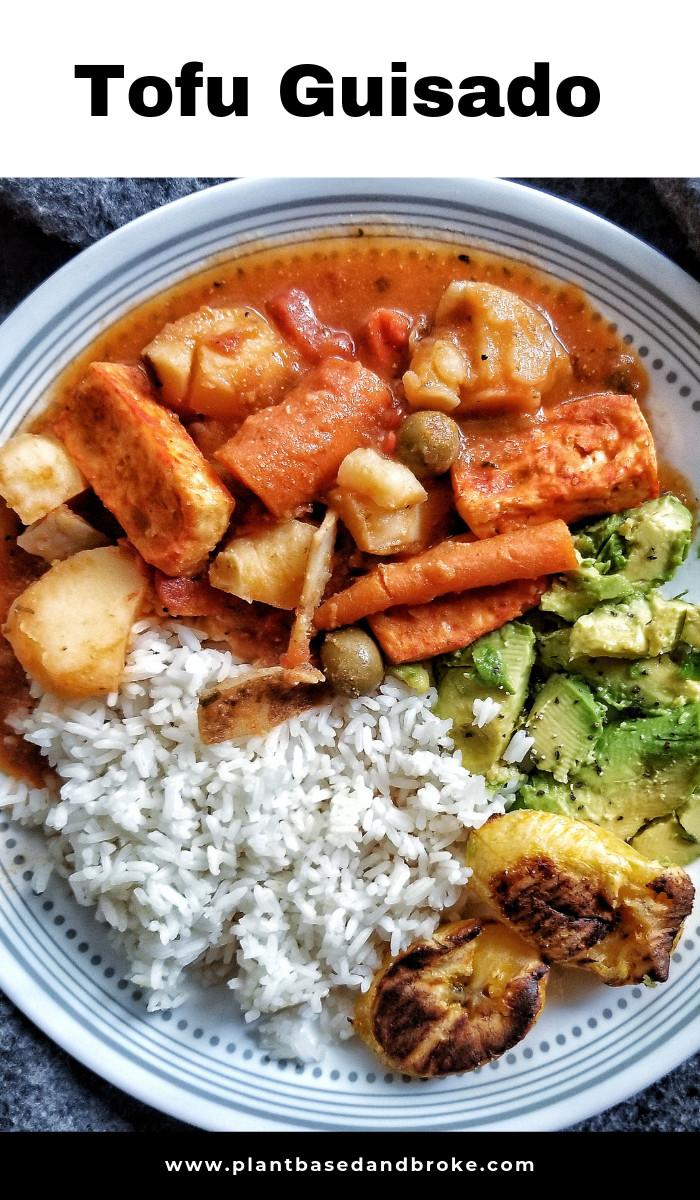 Puerto Rican Main Dishes  Puerto Rican Tofu Guisado Recipe