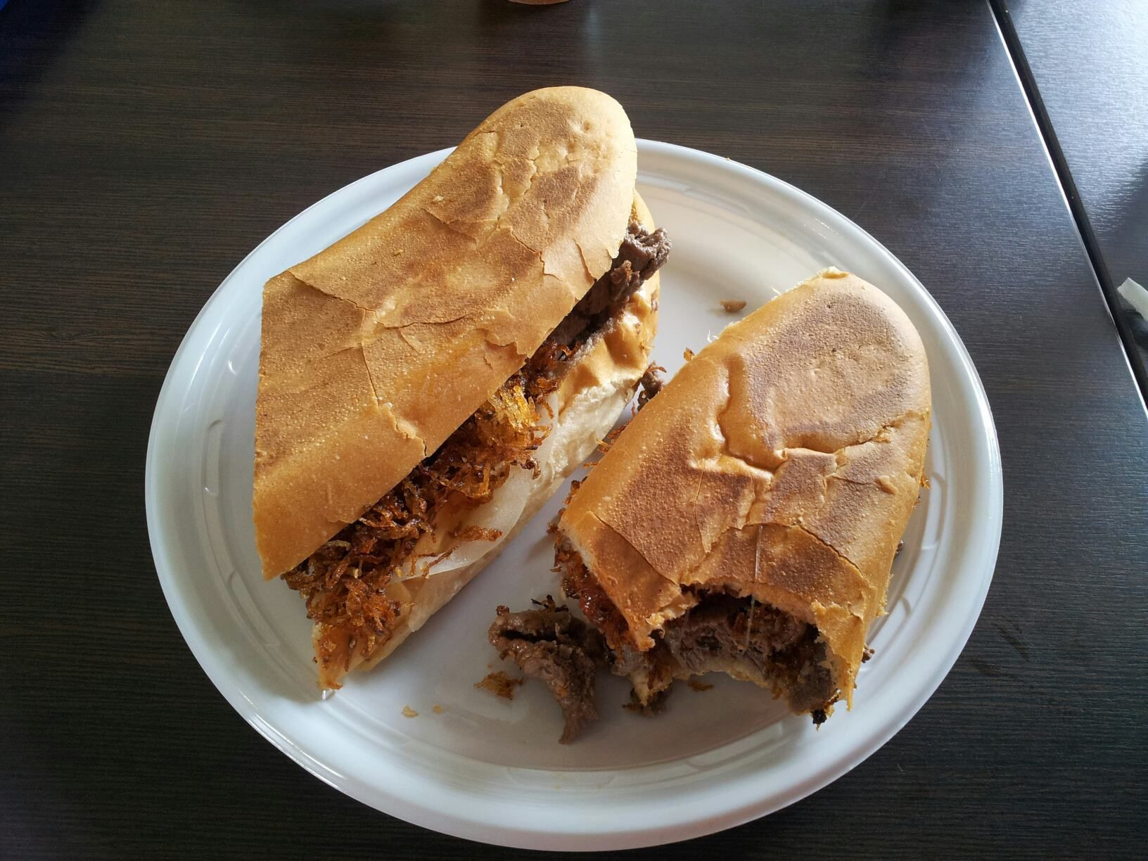 Puerto Rican Main Dishes  Pan con Bistec de Kasalta