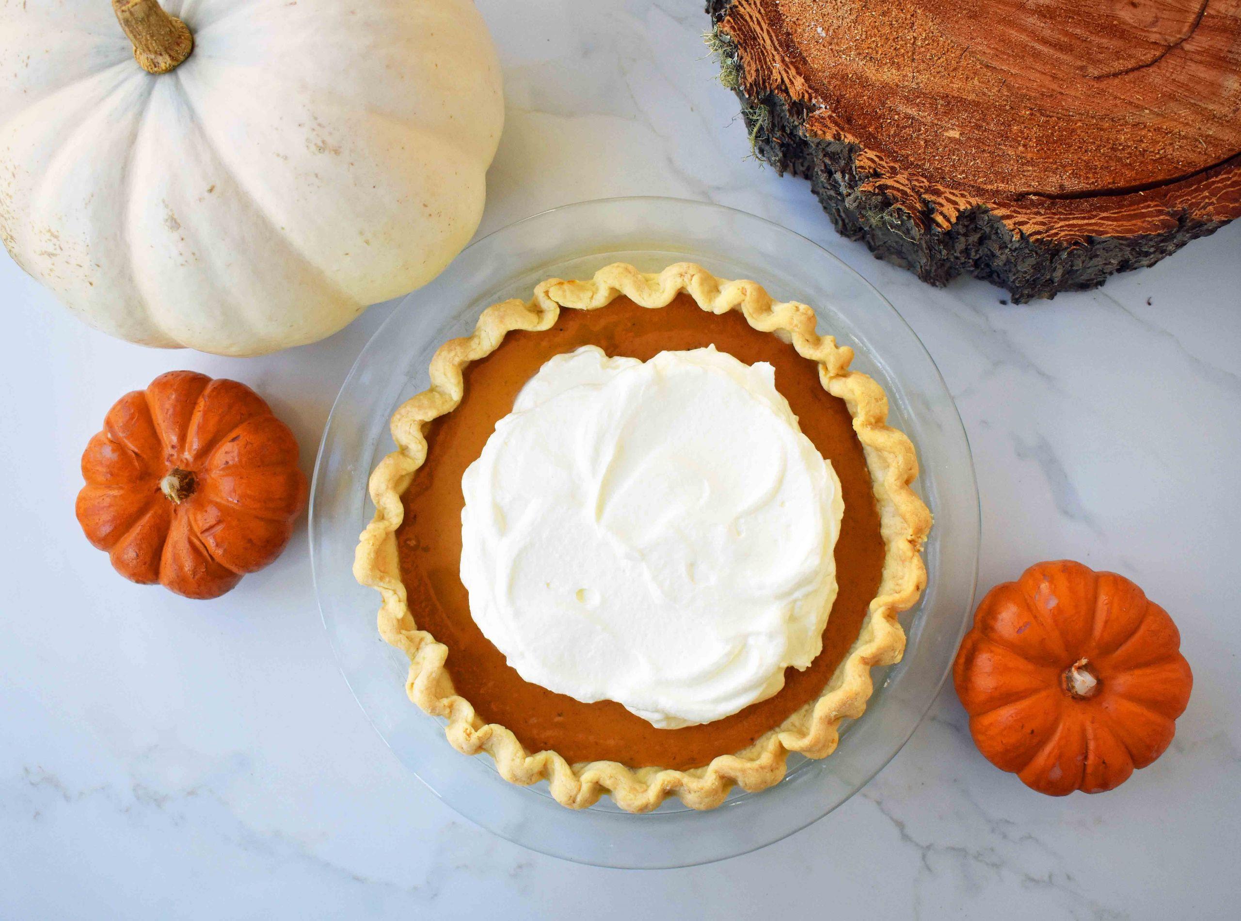 Pumpkin Pie Recipe With Sweetened Condensed Milk  Perfect Pumpkin Pie – Modern Honey