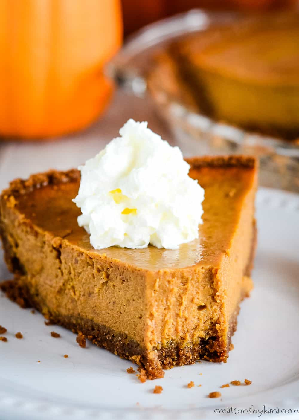 Pumpkin Pie Recipe With Sweetened Condensed Milk  Pumpkin Pie with Sweetened Condensed Milk Creations by Kara