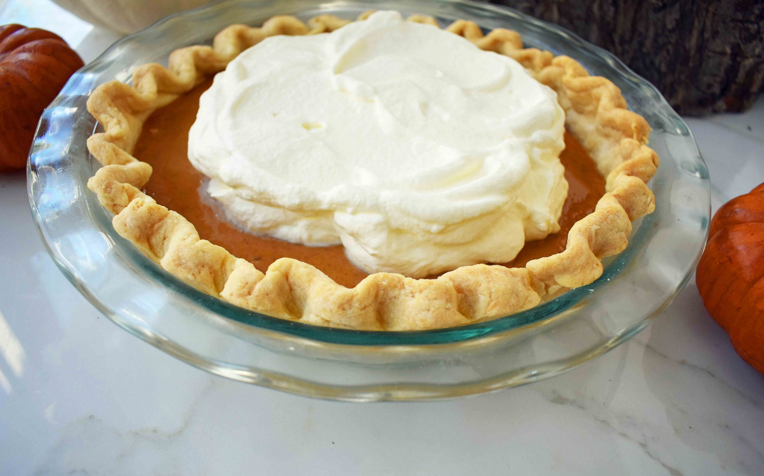 Pumpkin Pie Recipe With Sweetened Condensed Milk  Perfect Pumpkin Pie