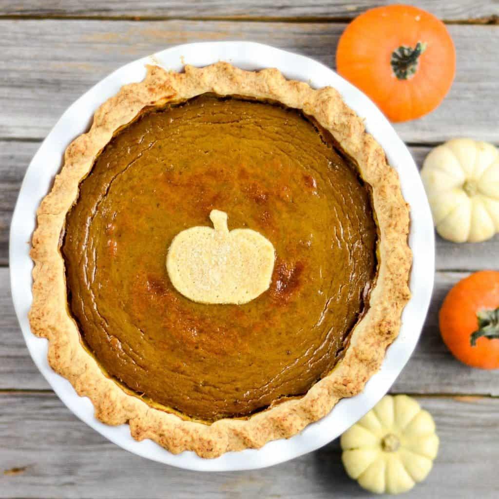 Pumpkin Pie Recipe With Sweetened Condensed Milk  Dairy Free Pumpkin Pie Joyfoodsunshine