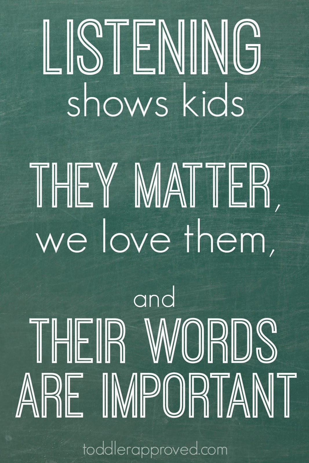Quotes About Children  Toddler Approved Listening Better to Kids Parenting