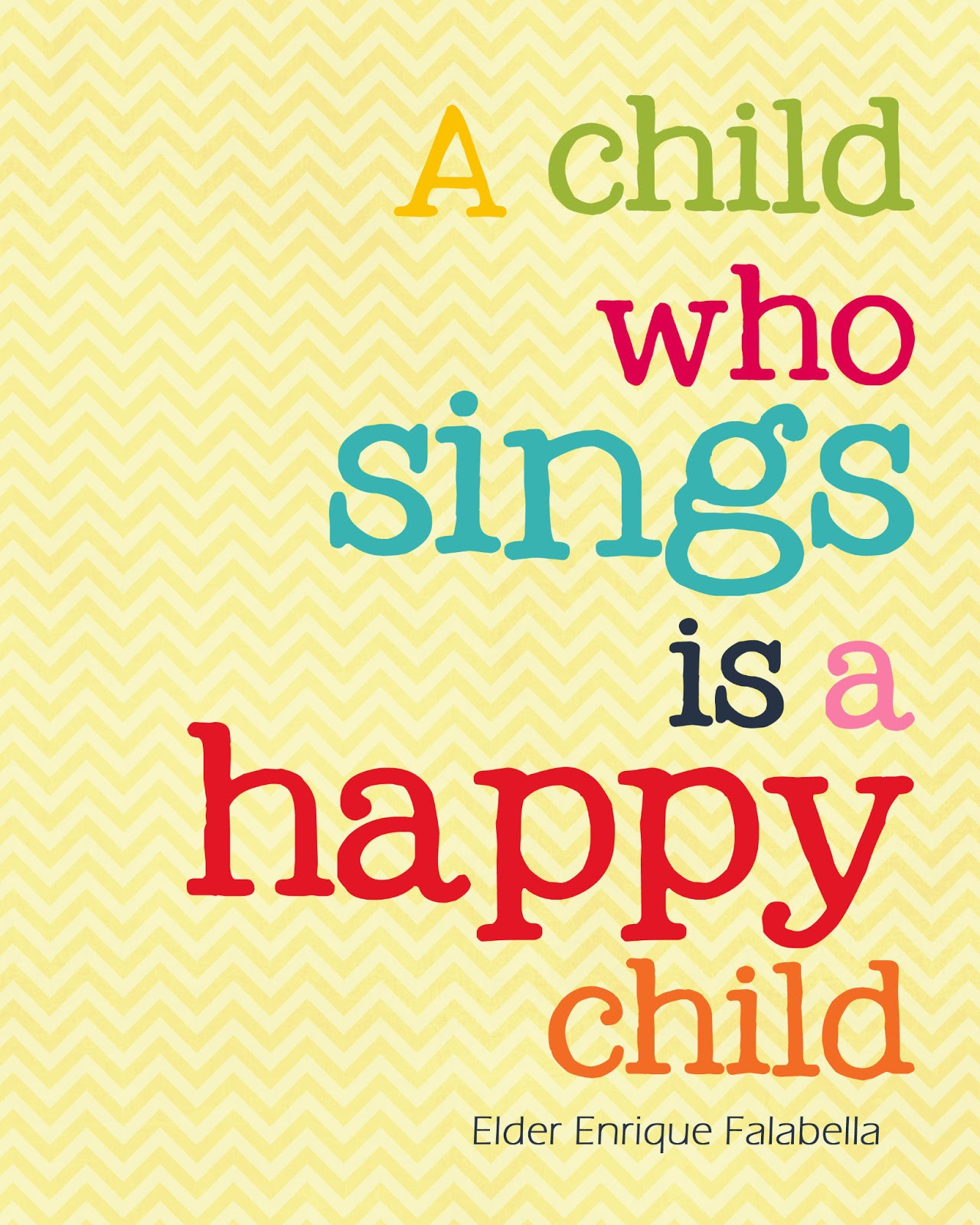 Quotes About Children  A Pocket full of LDS prints Free Quote Printables 183