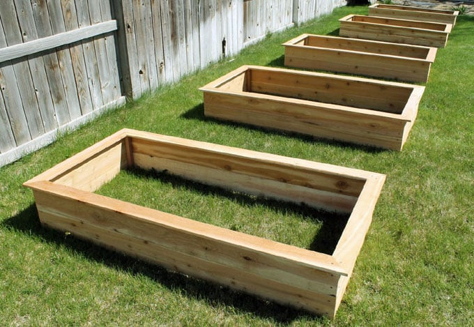 Raised Garden Boxes DIY  20 Amazing DIY Raised Bed Gardens A Piece Rainbow