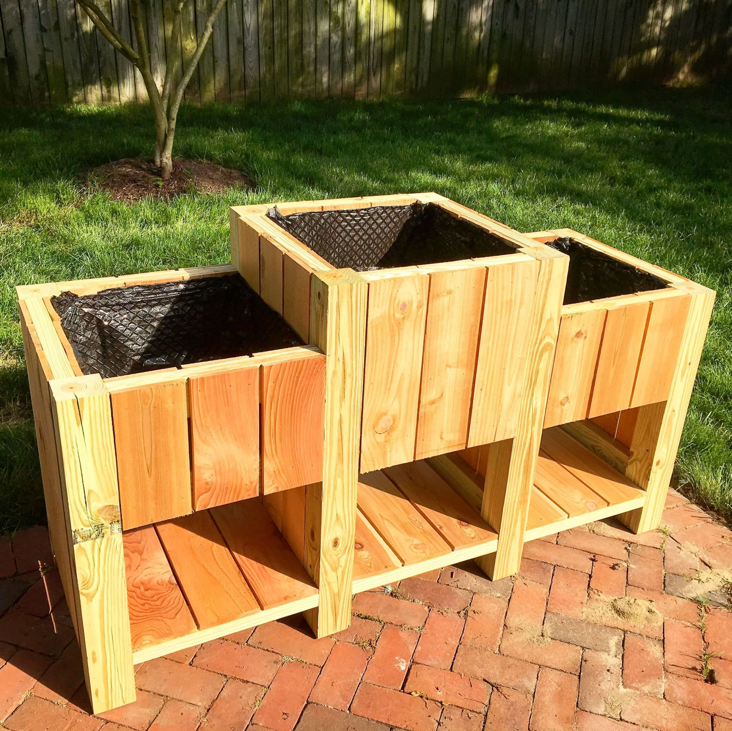 Raised Garden Boxes DIY  37 Outstanding DIY Planter Box Plans Designs and Ideas
