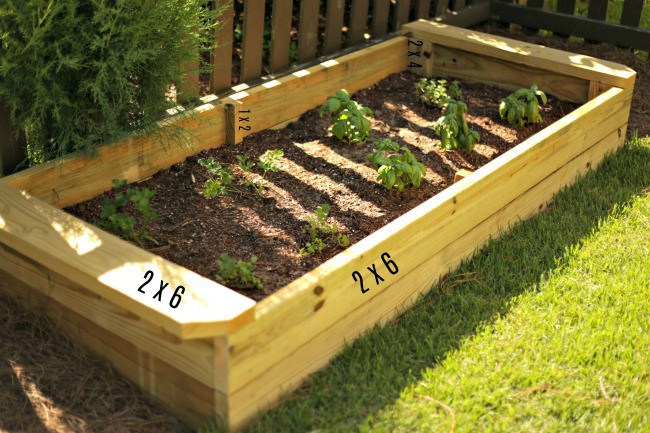 Raised Garden Boxes DIY  DIY Raised Garden Box Our Fifth House
