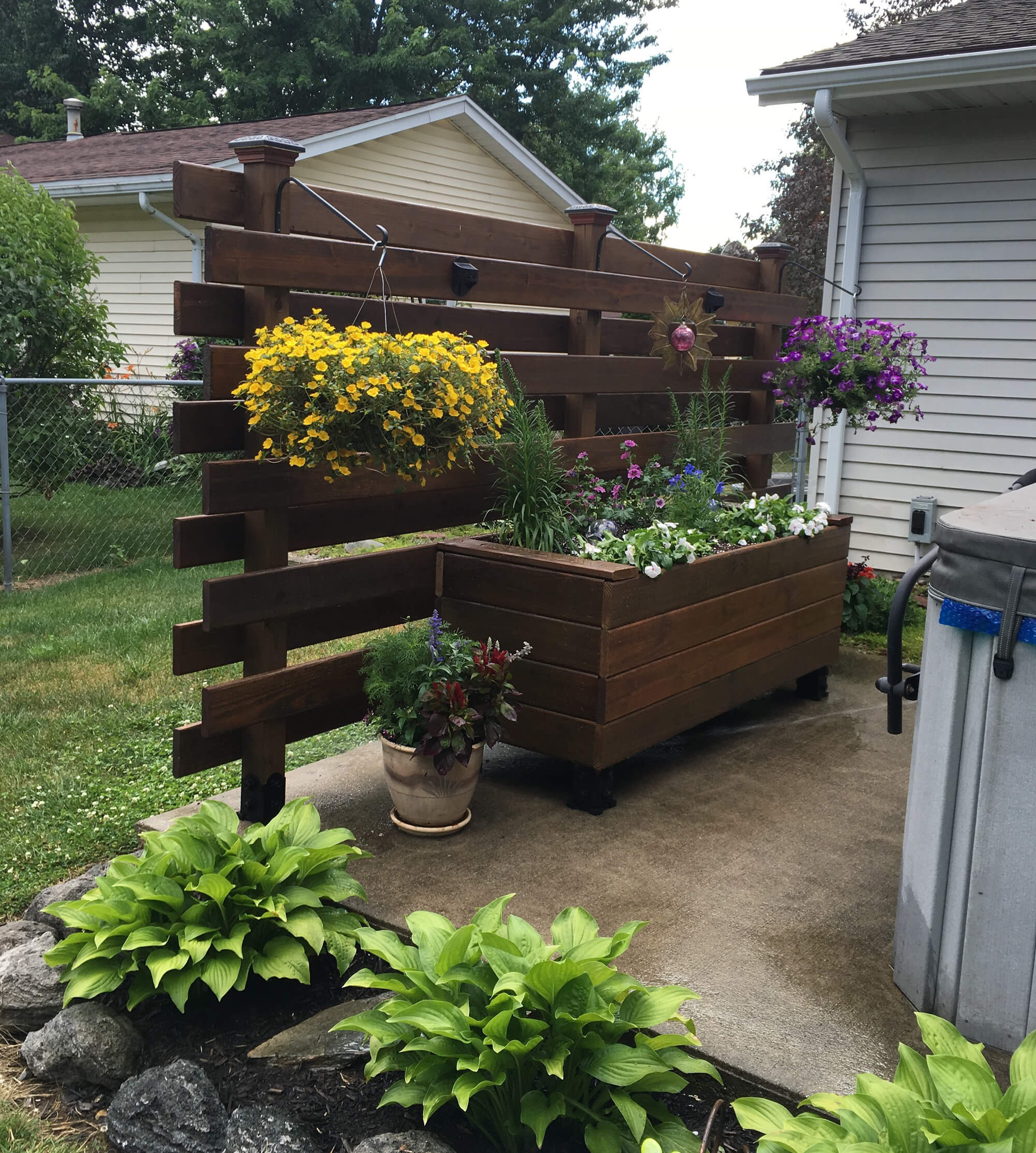 Raised Garden Boxes DIY  How to Build a Raised Wooden Planter Box Easy DIY Flower