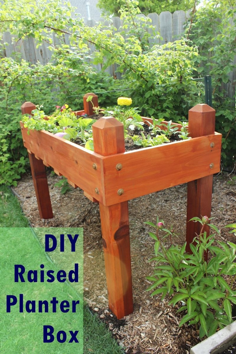 Raised Garden Boxes DIY  DIY Raised Planter Box – A Step by Step Building Guide