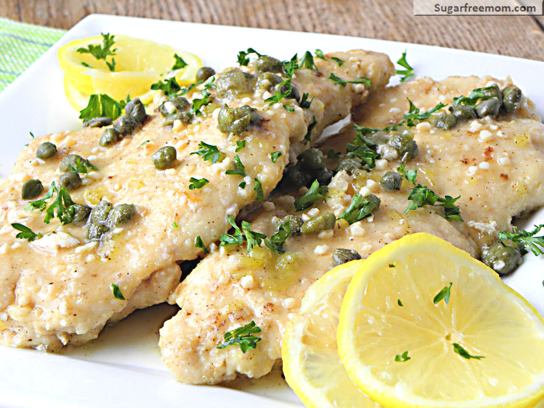 Recipes For Low Cholesterol  Low Fat Chicken Piccata [Gluten Free]