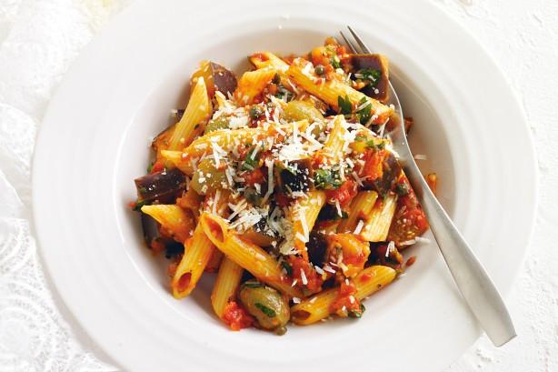 Recipes For Low Cholesterol  Low Cholesterol Pasta Eggplant Caponata