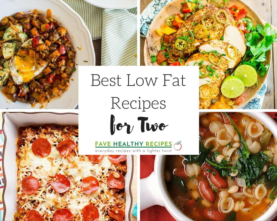 Recipes For Low Cholesterol  10 Best Low Fat Recipes for Two