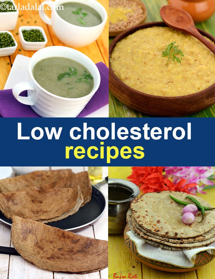 Recipes For Low Cholesterol  250 Low Cholesterol Indian Healthy Recipes Low