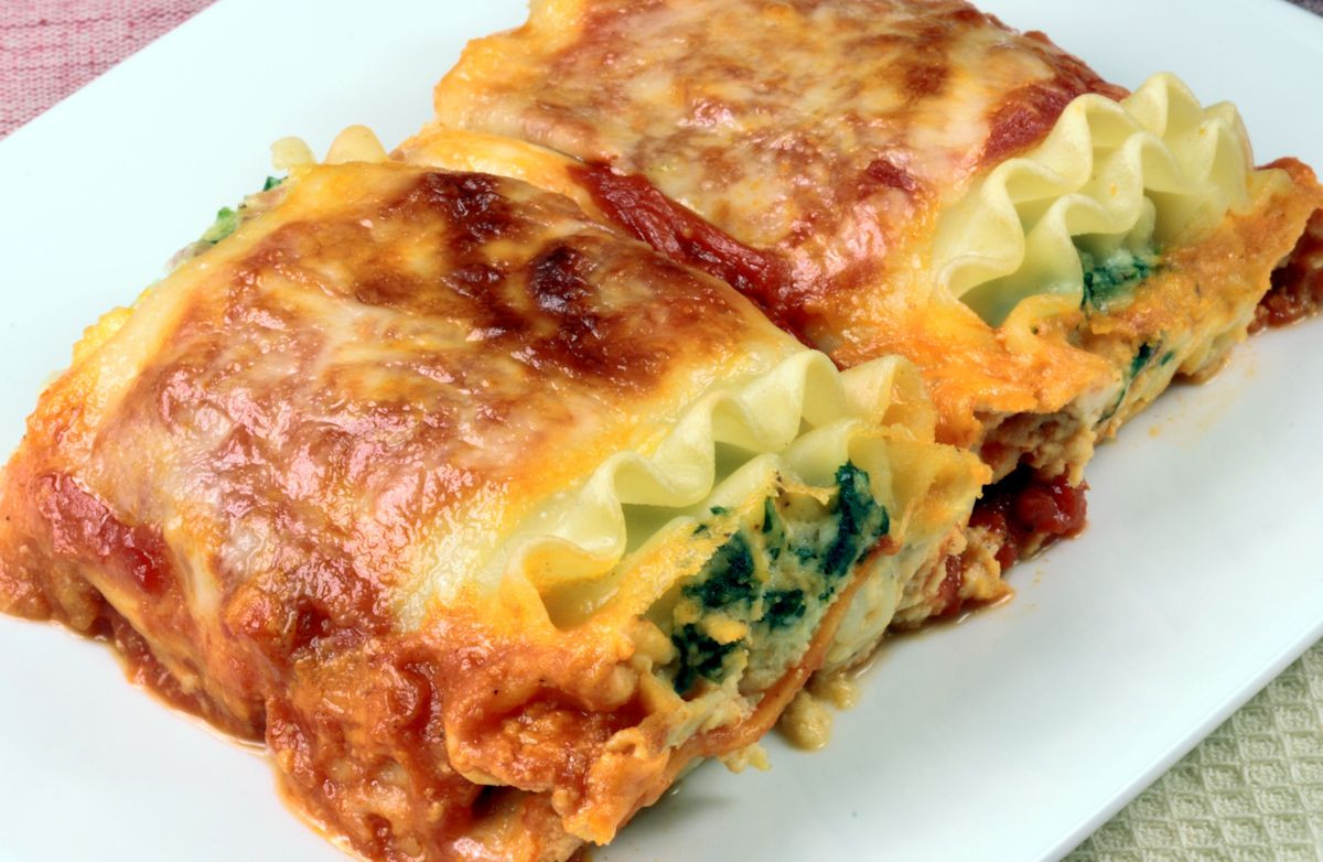 Recipes For Low Cholesterol  Low Fat Spinach Lasagna Recipe