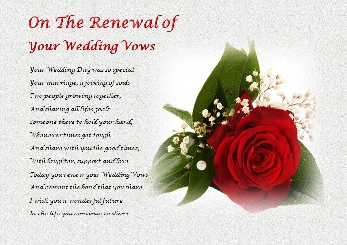 Renew Wedding Vows  on the RENEWAL of YOUR WEDDING VOWS personalised t