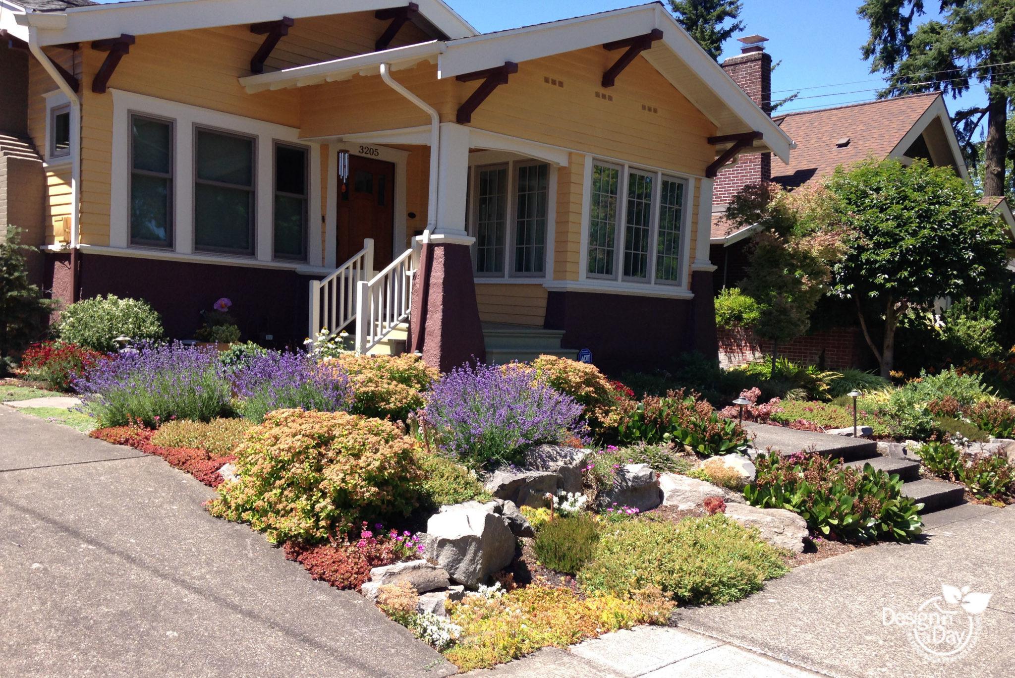 Residential Landscape Design  No Lawn Front Yards Archives Page 2 of 4 Landscape
