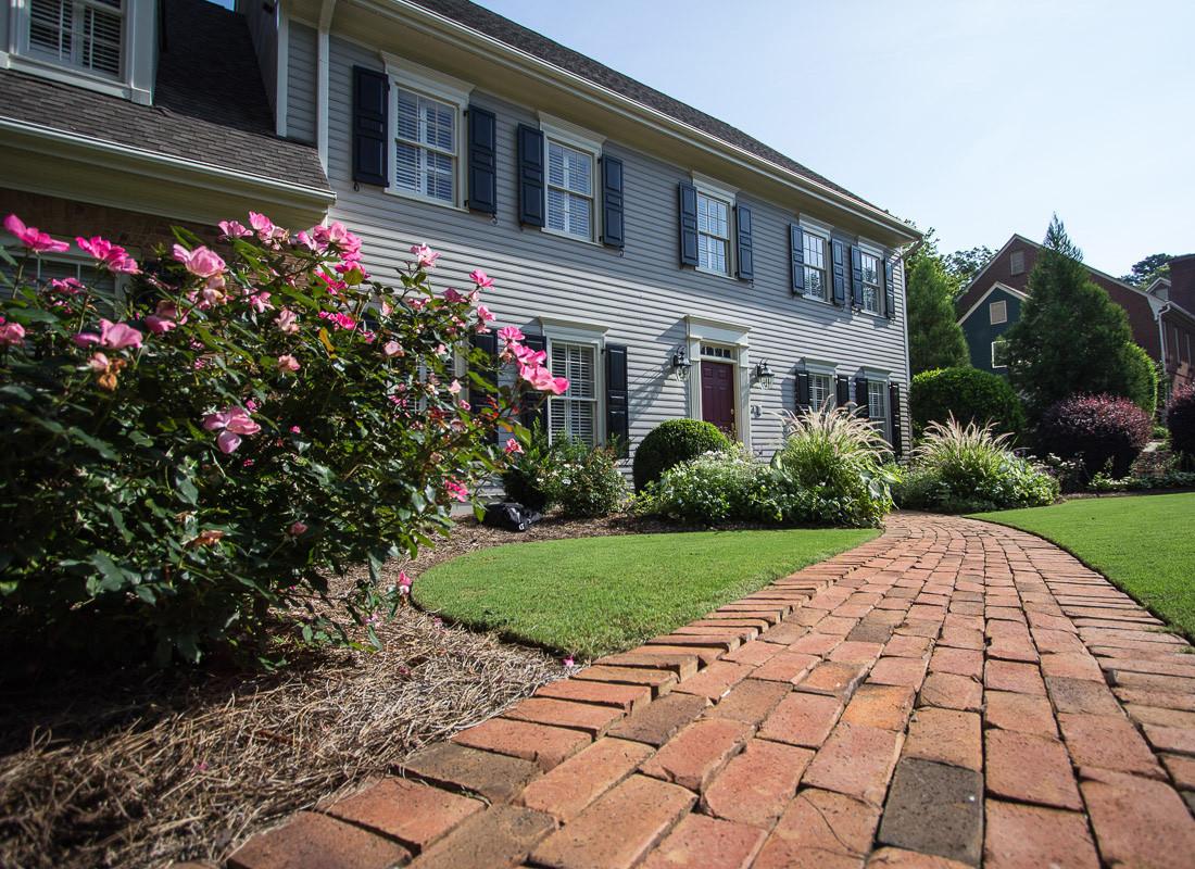 Residential Landscape Design  Dunwoody Residence Cultivators Landscape Architecture