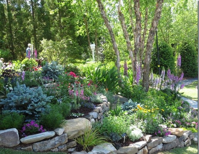 Rock Terrace Landscape  How to Add Levels to your Garden Edmonton Landscaping