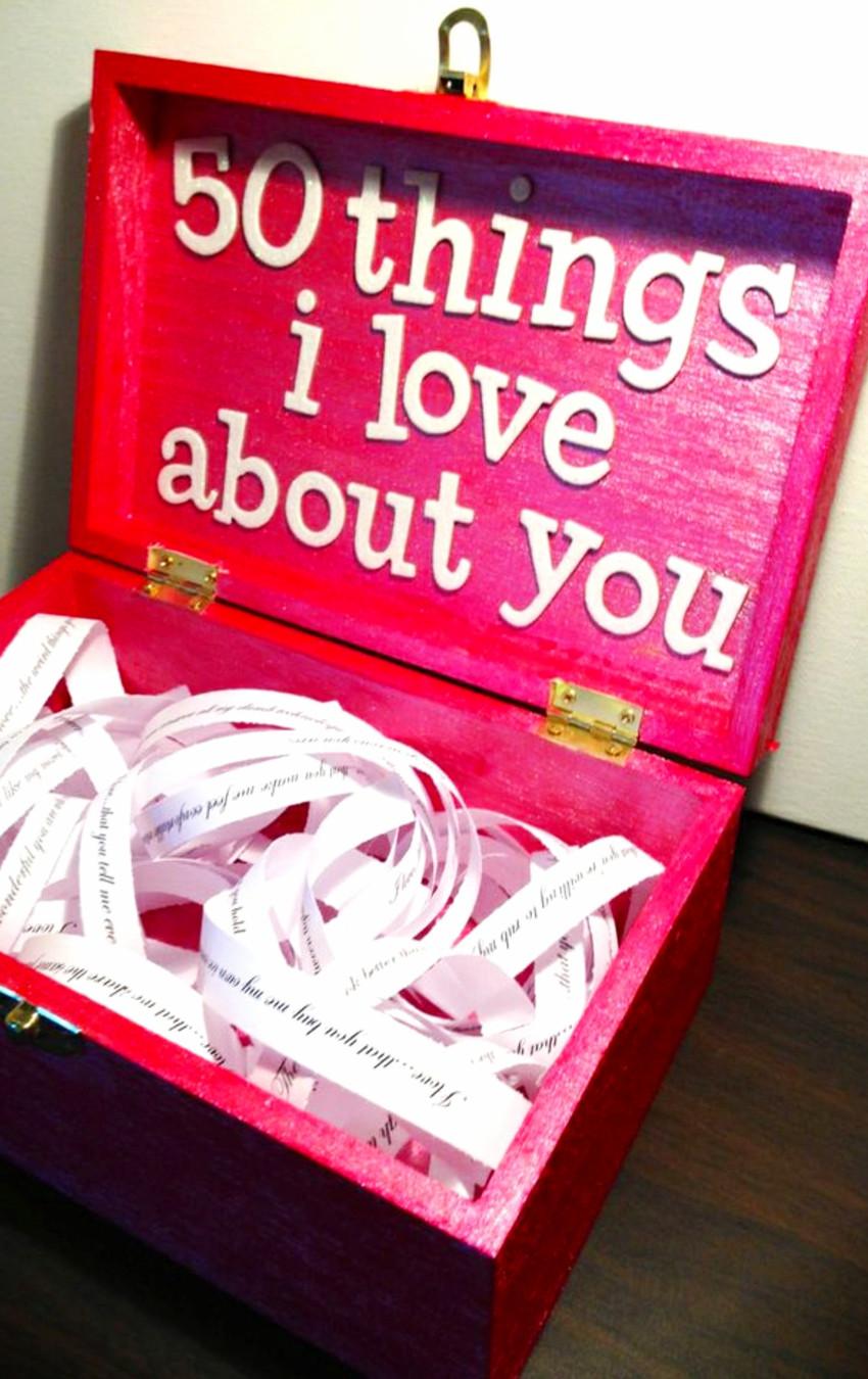 Romantic Birthday Gift Ideas For Him  26 Handmade Gift Ideas For Him DIY Gifts He Will Love