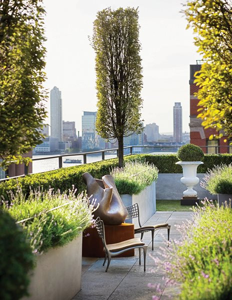 Rooftop Terrace Landscape  Landscaping Roof Terraces Gallery