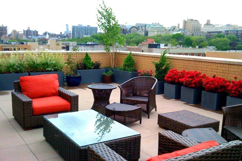 Rooftop Terrace Landscape  Rooftop & Balcony Garden Tips Landscaping Network