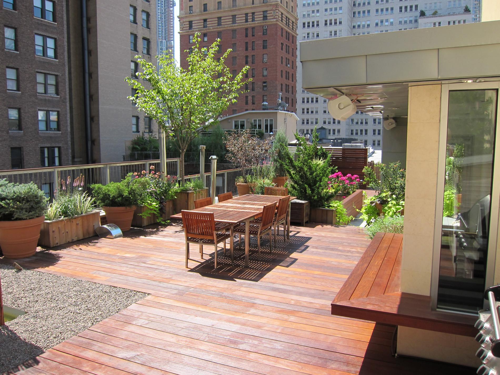 Rooftop Terrace Landscape  Rooftop & Terrace Decks