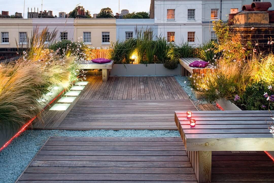 Rooftop Terrace Landscape  World s 17 Most Unique Landscape Architecture Designs