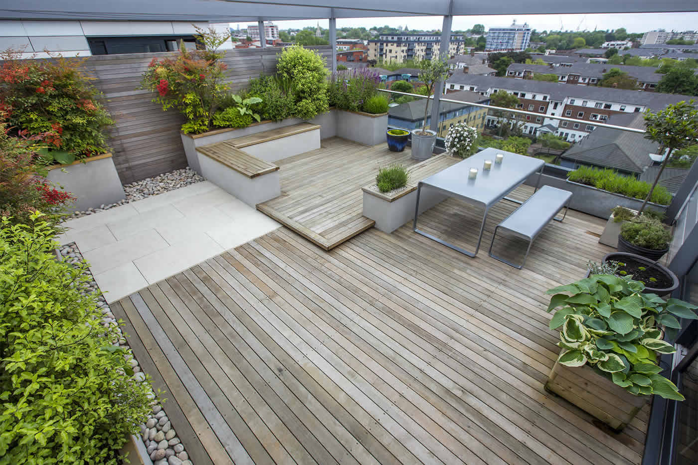 Rooftop Terrace Landscape  Revamp Your Boring Terrace With These Magnificent Roof