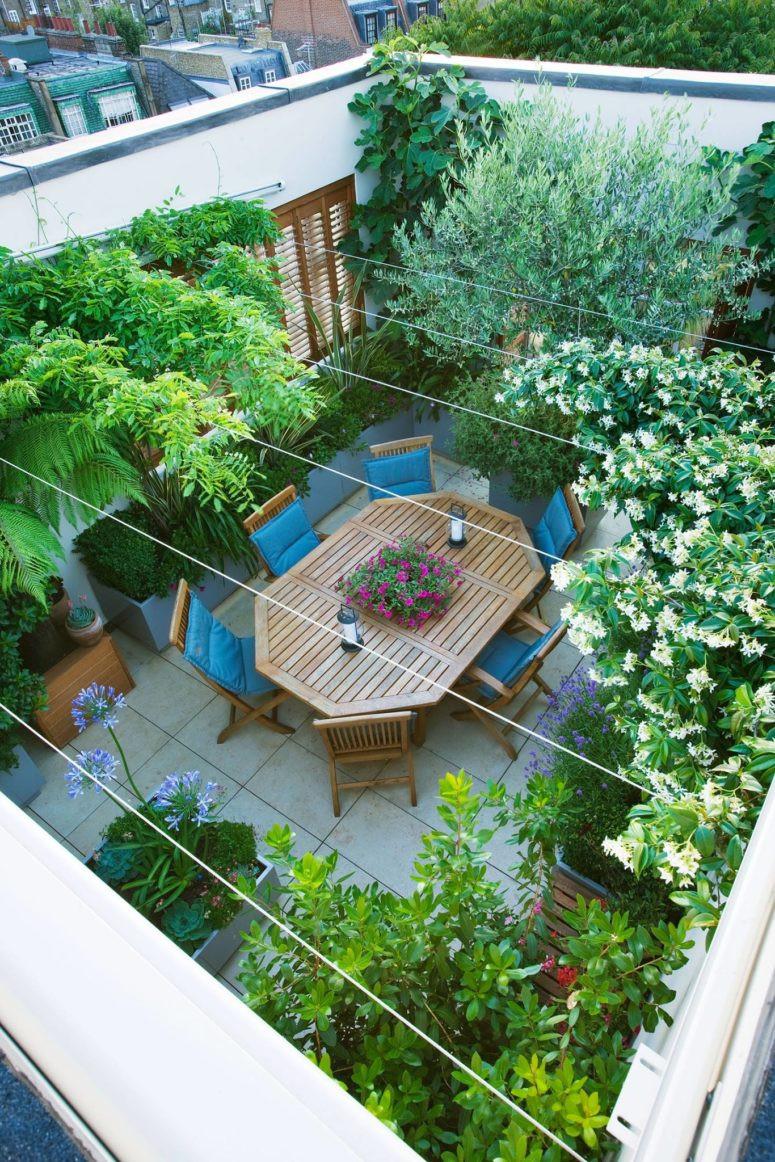 Rooftop Terrace Landscape  75 Inspiring Rooftop Terrace Design Ideas DigsDigs