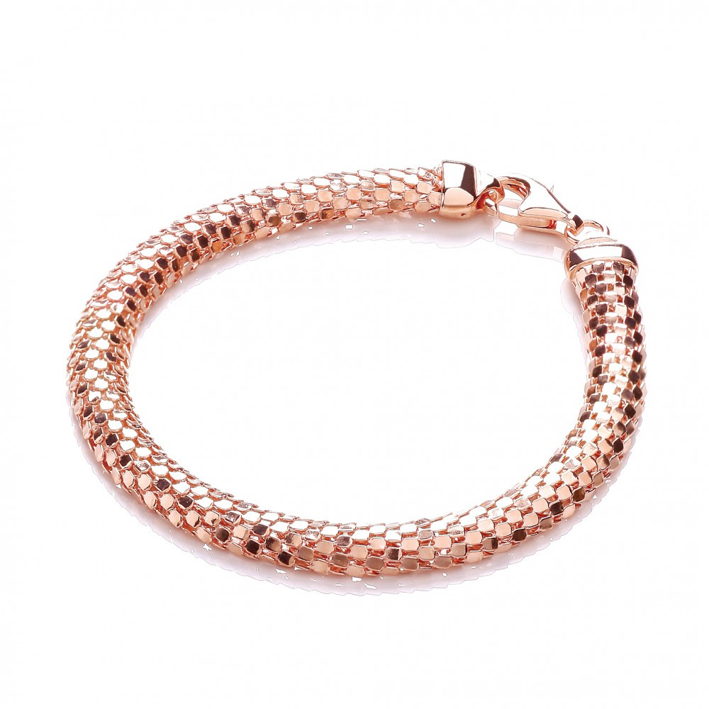 Rose Gold Bracelet  Sasha Rose Gold Plated Bracelet