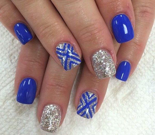 Royal Blue Nail Designs  60 Beautiful Royal Blue Nail Designs You Can Try to Copy