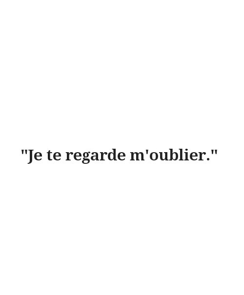 Sad French Quotes  broken for francais french fro image