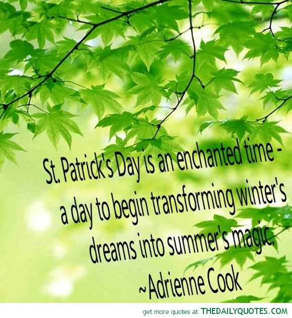 Saint Patrick's Day Quotes  Saint Patrick Famous Quotes QuotesGram