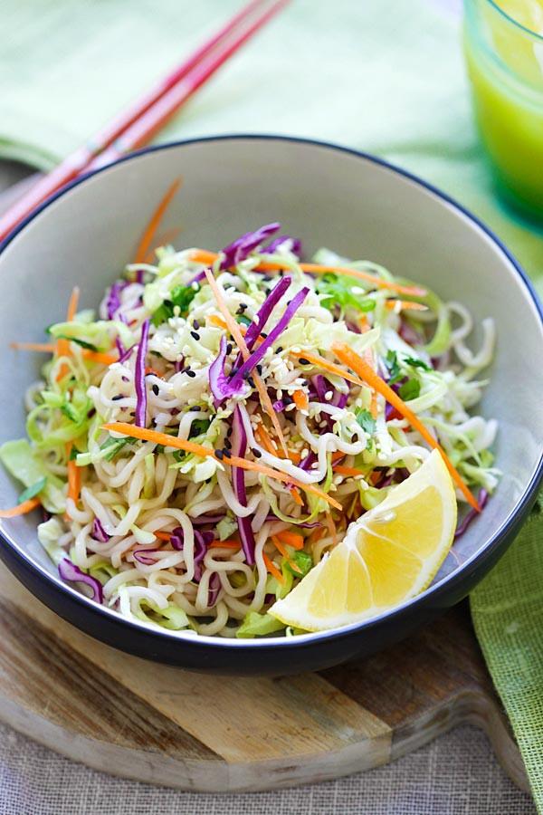 Salads With Ramen Noodles  Ramen Noodle Salad