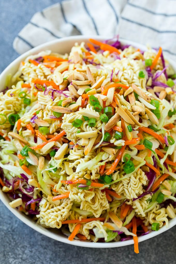 Salads With Ramen Noodles  Ramen Noodle Salad Dinner at the Zoo