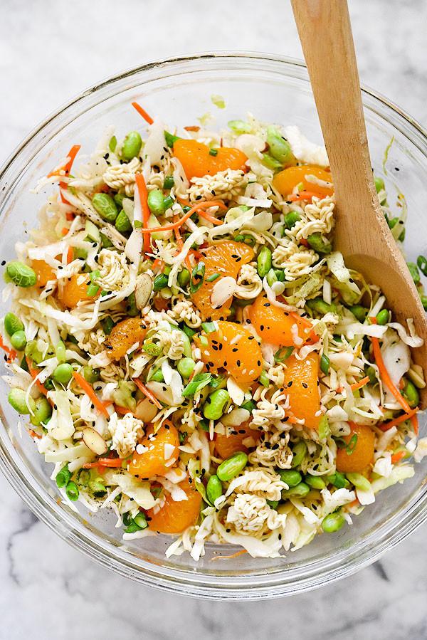 Salads With Ramen Noodles  Asian Ramen Noodle Salad Recipe