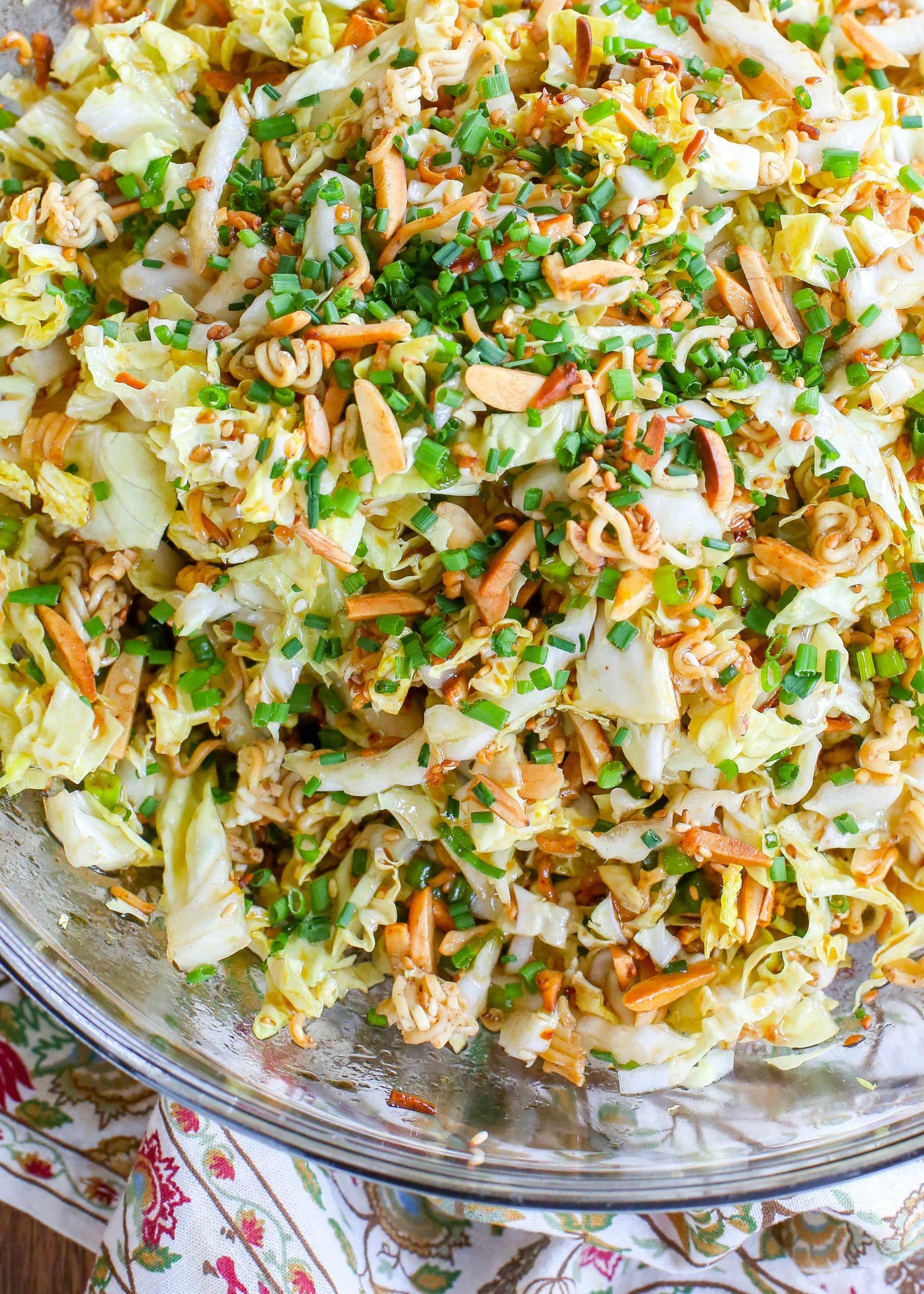 Salads With Ramen Noodles  The BEST Ramen Noodle Salad