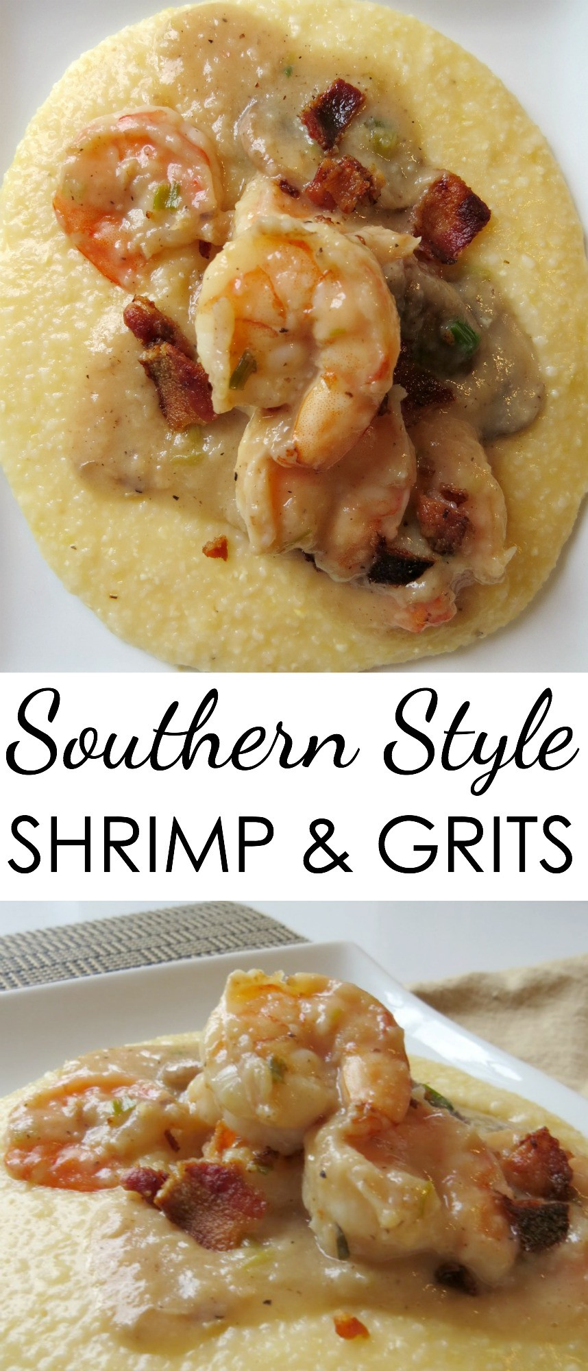Sauce For Shrimp And Grits  Easy Shrimp Grits Recipes Written Reality