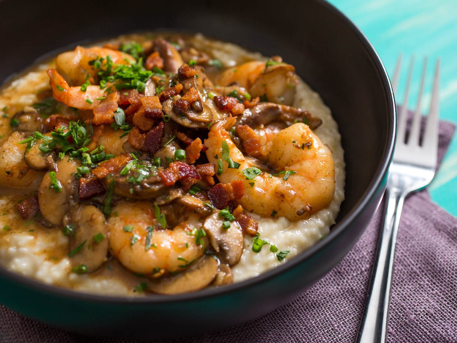 Sauce For Shrimp And Grits  Upgrade Your Shrimp and Grits With Mushrooms Bacon and