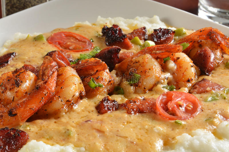 Sauce For Shrimp And Grits  Cajun shrimp and grits stock photo Image of creamy