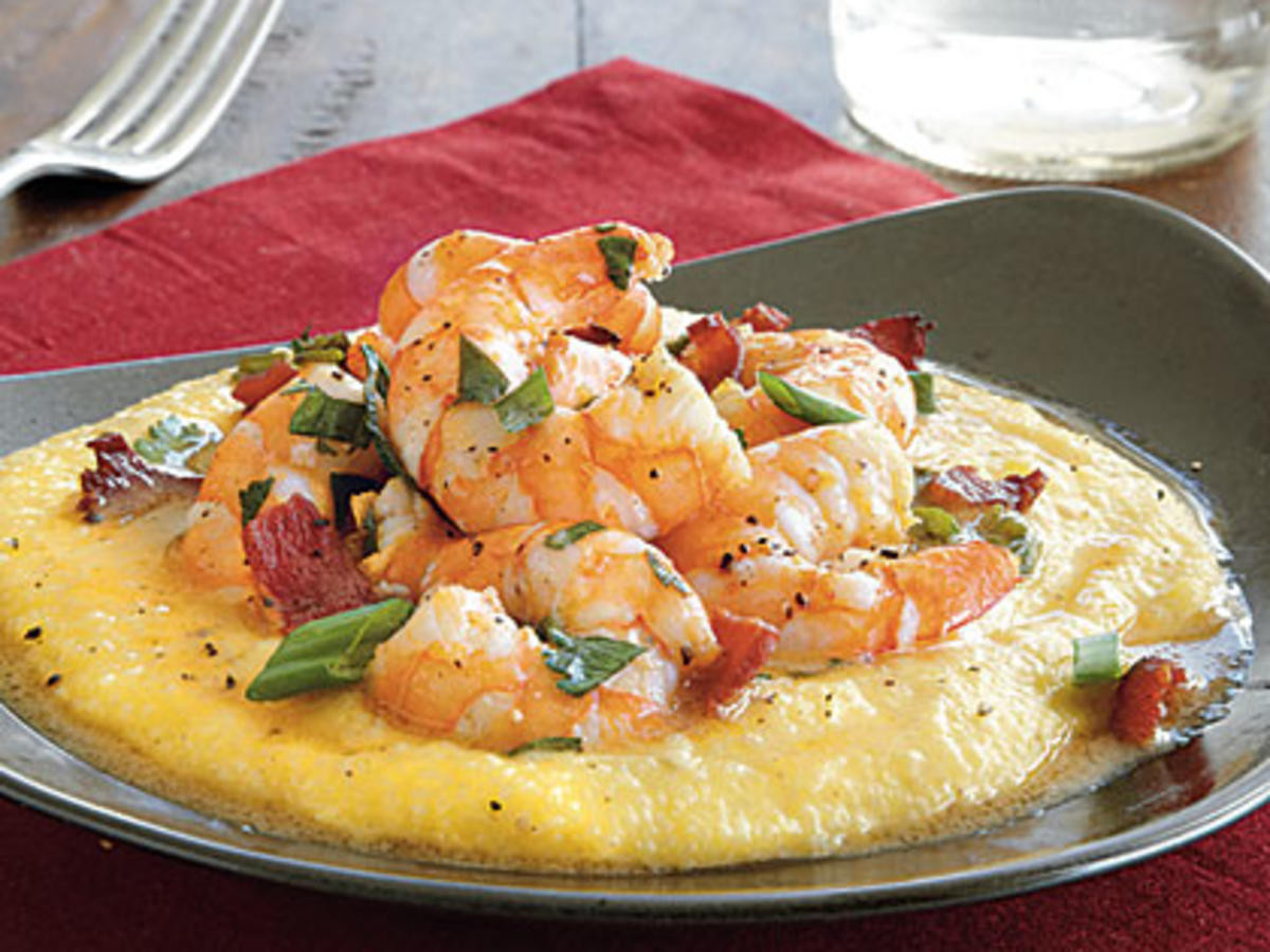 Sauce For Shrimp And Grits  Cheesy Shrimp and Grits Recipe