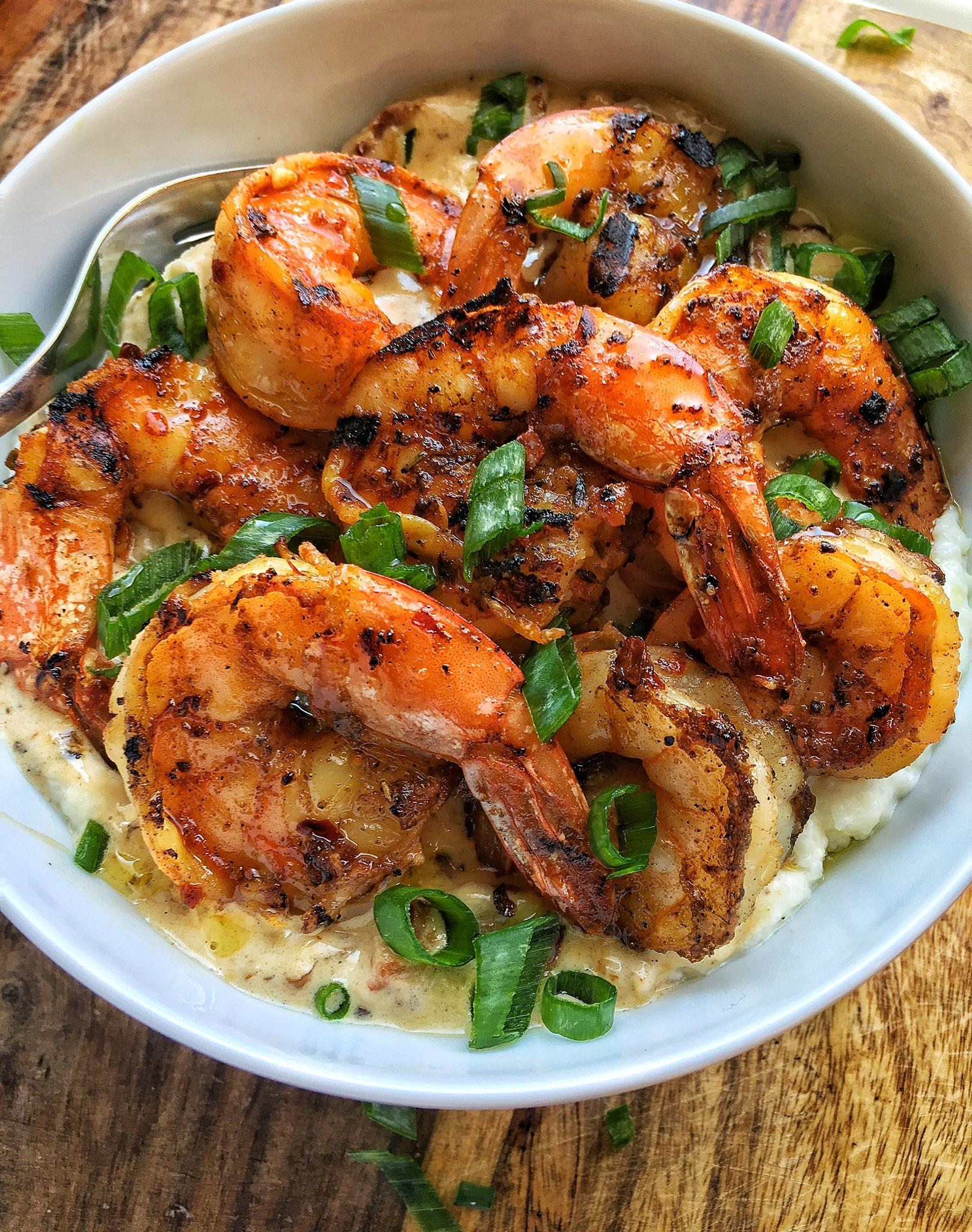 Sauce For Shrimp And Grits  Grilled Jerk Shrimp & Grits