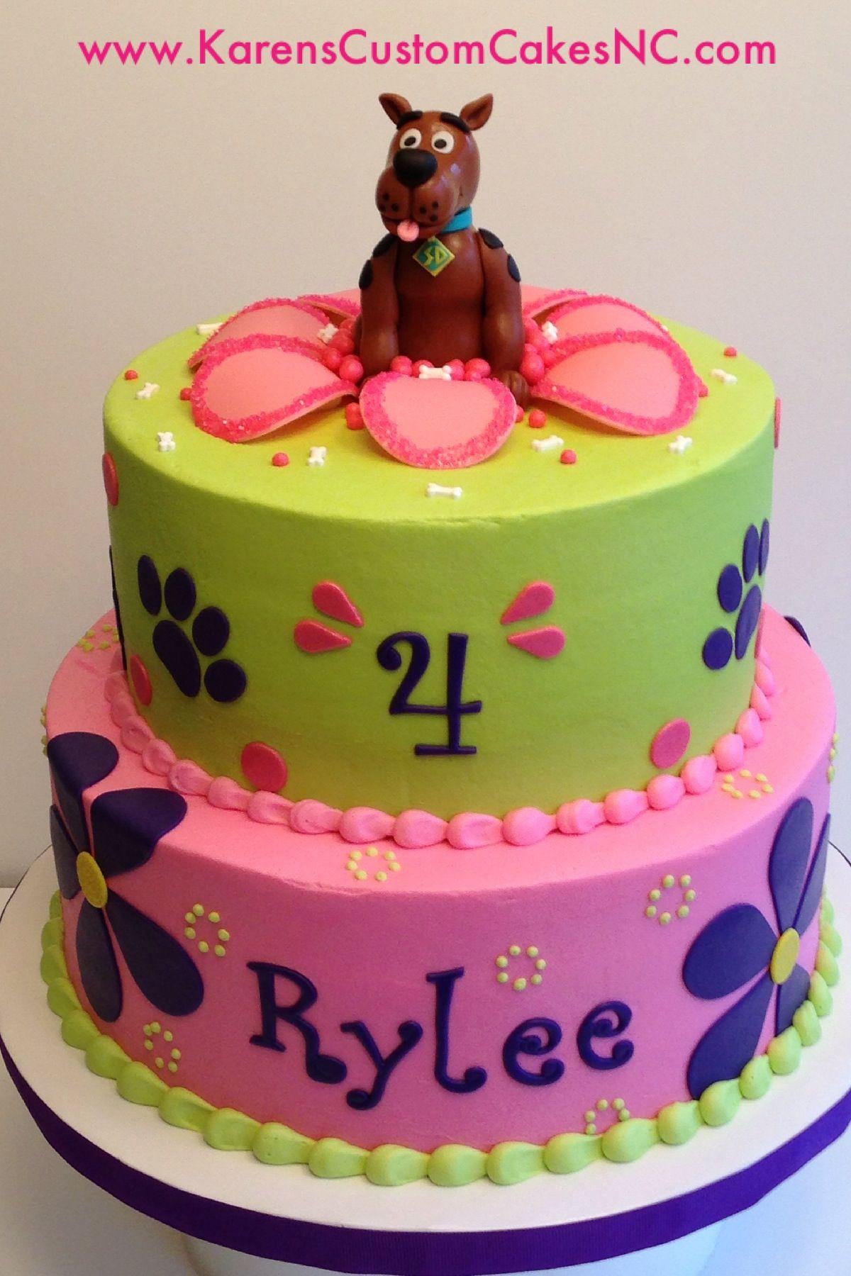 Scooby Doo Birthday Cakes  Girly Scooby Doo cake