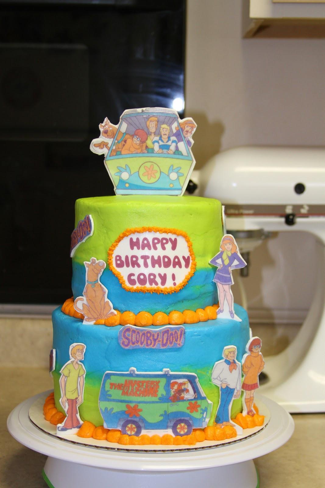 Scooby Doo Birthday Cakes  Michele Robinson Cakes Scooby Doo Cake