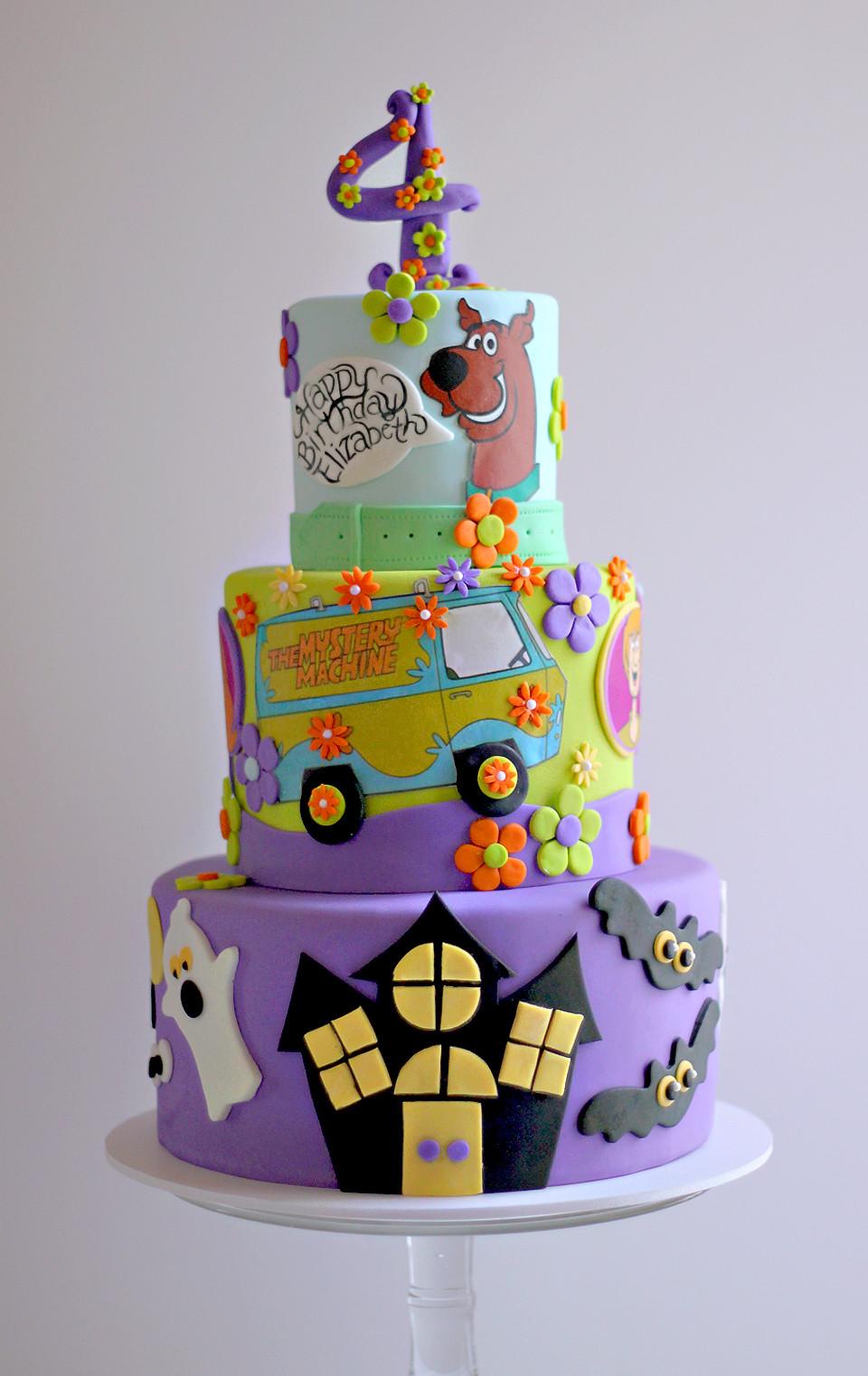 Scooby Doo Birthday Cakes  Elizabeth's Scooby Birthday Cake