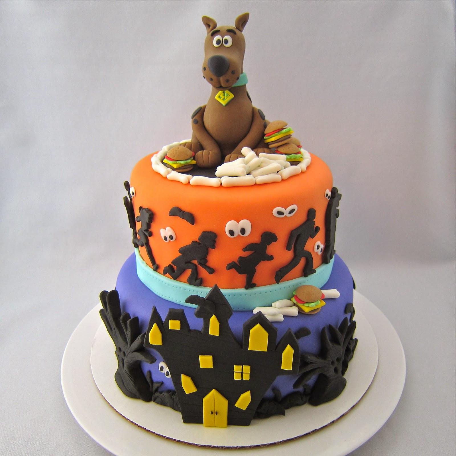 Scooby Doo Birthday Cakes  Clever Wren Scooby Doo Cake Cake of Cakes